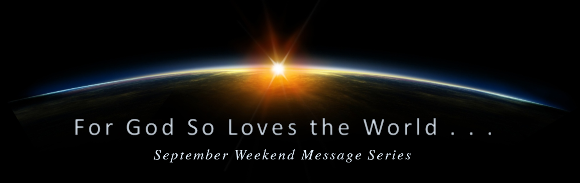 Logo for Sunday Message Series